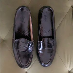 Bass leather loafers